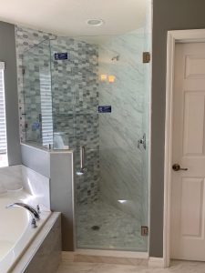 Frameless Shower Doors Intalled on 3/13/201