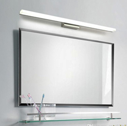 withe rectangle mirror